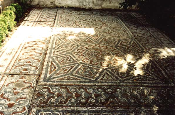 112 Roman Floor Tiles A